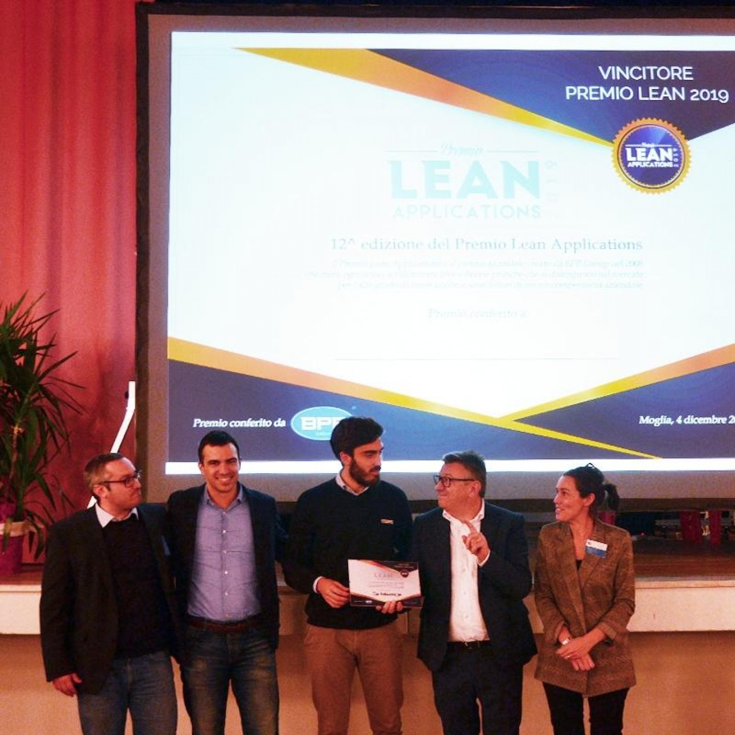 Premio Lean Applications 2019